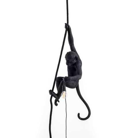 Подвесной светильник копия MONKEY by Seletti (черный)
