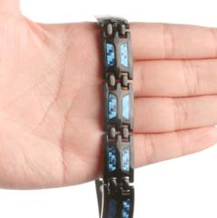 Титановый магнитный браслет