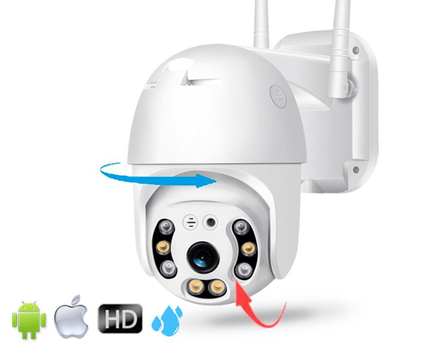 Wi-Fi Камеры Уличная Поворотная Wi-Fi Camera (купольная) главная.jpg