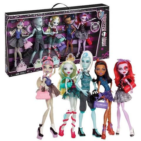 Набор из 5 кукол. Дэнс Класс