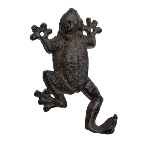 Крючок чугунный «Лягушка»