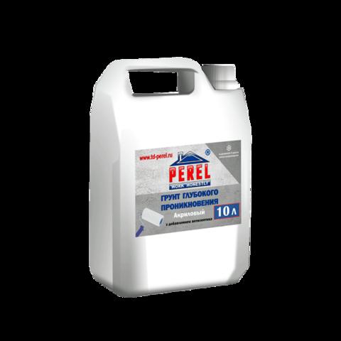 Perel FixPrim, 10л - Грунтовка глубокого проникновения с антисептиком