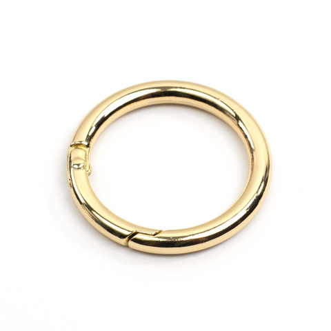 "Карабин-кольцо 31мм ""Золото"""