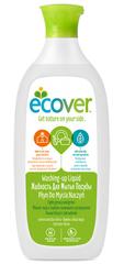 Экологическая жидкость для мытья посуды с лимоном и алоэ-вера, Ecover