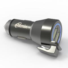 Зарядное устройство с двумя USB-портами RITMIX RM-2429DC