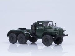 Ural-375S-K1 road tractor green AutoHistory 1:43