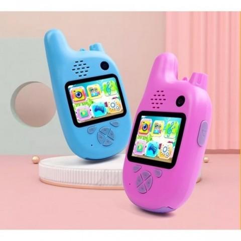 Детский фотоаппарат камера рация Walkie Talkie HD