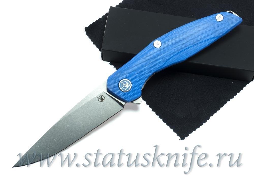 Нож Широгоров 111 Vanax37 G10 blue 3D MRBS