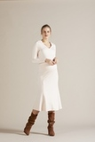 Платье для беременных 09802 пыльно-розовый