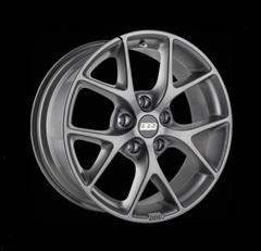 Диск колесный BBS SR 8x18 5x100 ET48 CB70.0 satin himalaya grey