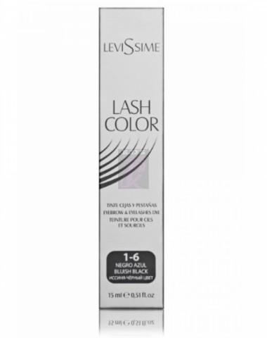 Levissime #1-6 Иссиня-черная - Краска для бровей и ресниц, 15 мл
