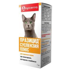 Празицид-суспензия Плюс антигельминтик шприц-дозатор для кошек 7мл