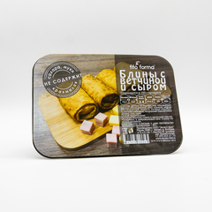 Низкоуглеводные блины с ветчиной и сыром Fito Forma 350 г