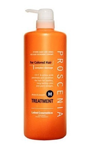 Маска по уходу за прямыми волосами  PROSCENIA TREATMENT M, 980 мл.