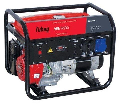 Кожух для бензинового генератора Fubag HS 5500 (5000 Вт)