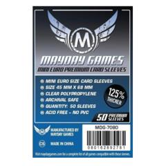 Протекторы для настольных игр Mayday Premium Mini European (45х68) - 50 штук