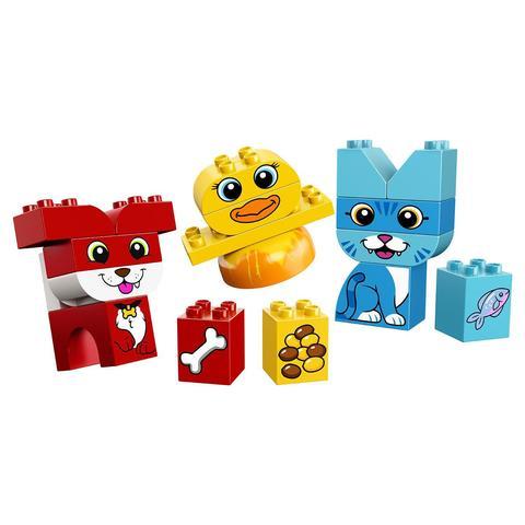 LEGO Duplo: Мои первые домашние животные 10858 — My First Puzzle Pets — Лего Дупло