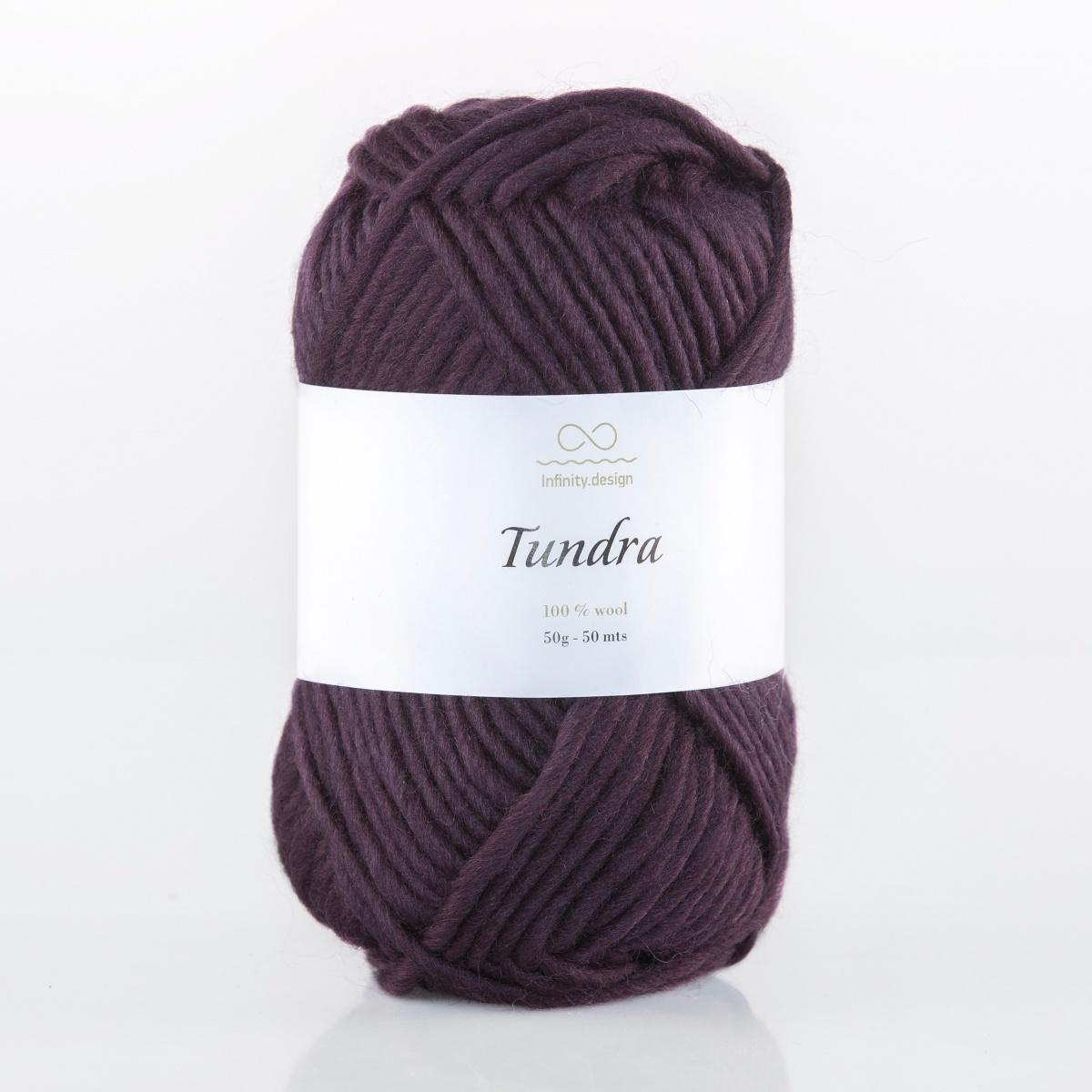 Пряжа Infinity Tundra 5072 темно-фиолетовый