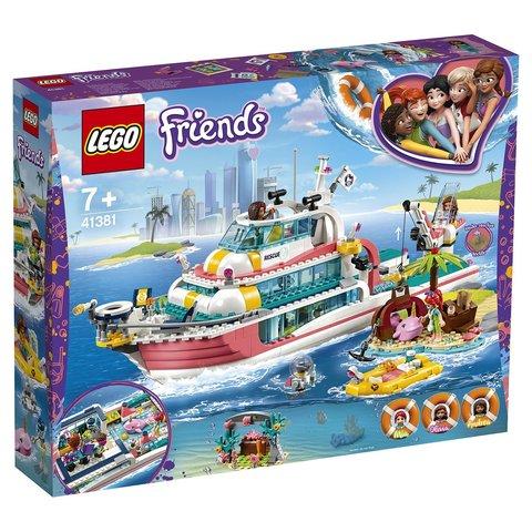 LEGO Friends: Катер для спасательных операций 41381 — Rescue Mission Boat — Лего Френдз Друзья Подружки