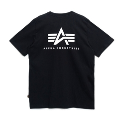 Футболка Alpha Industries Small Logo Black (Черная)