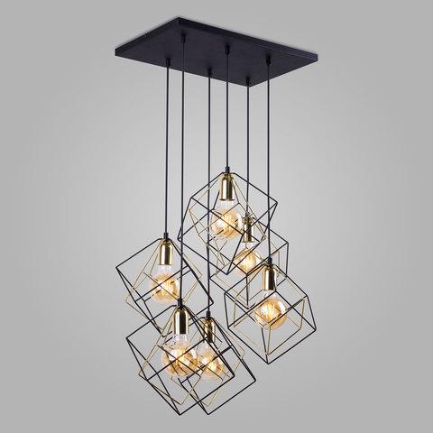 Подвесной светильник в стиле лофт 191 Alambre