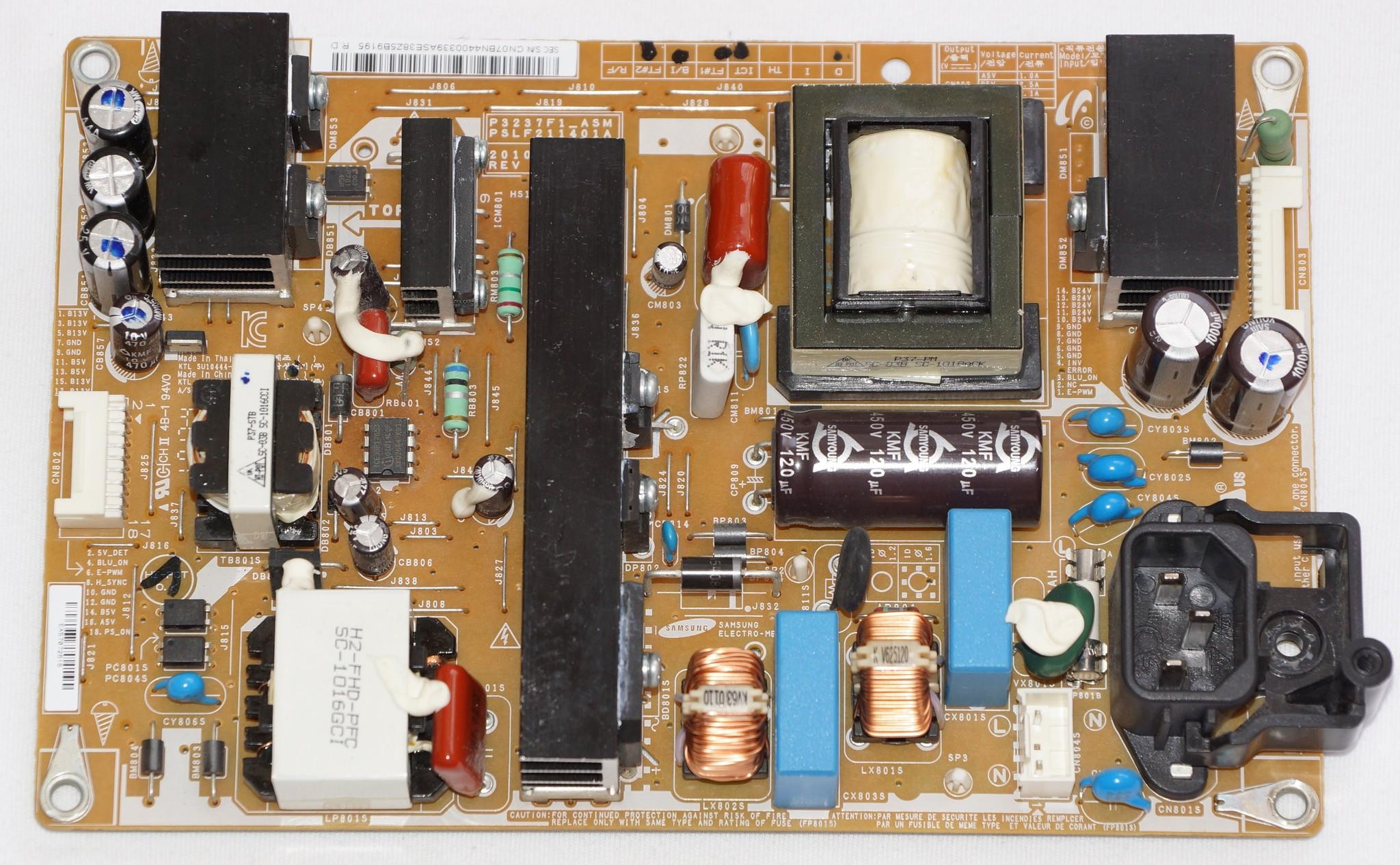 BN44-00339A блок питания телевизора Samsung