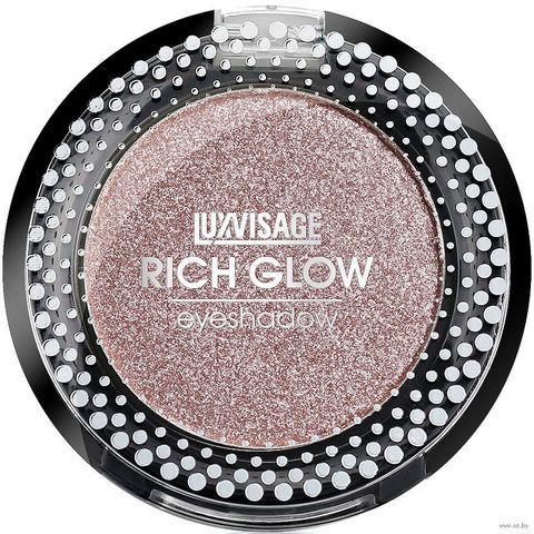 LuxVisage Тени компактные Rich Glow тон 03 first kiss 2г