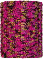 Вязаный шарф-труба с флисом Buff Neckwarmer Knitted Polar Livy Magenta