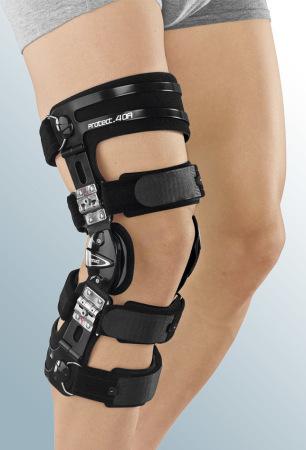С регулируемыми шарнирами Регулируемый жесткий коленный ортез protect.4 OA medi-protect.4OA_enl.jpg