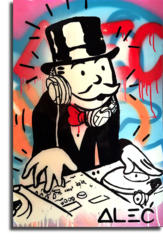 "Постер ""DJ Monopoly"""