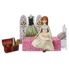 Кукла Анна День коронации Холодное сердце