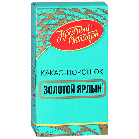 """Какао """"Золотой ярлык"""" 100г"""