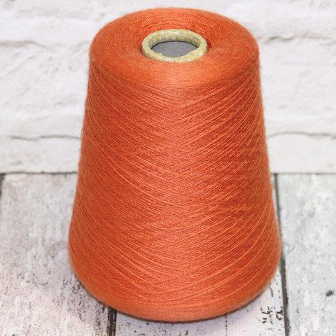 Кашемир с шелком (30%) CARIAGGI JAIPUR 2/56 оранжевый