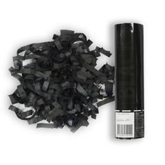 Пневмохлопушка Черное конфетти, 20см, 1шт.