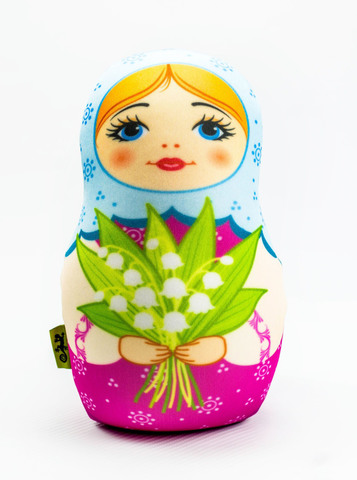 Подушка-игрушка «Матрешка весенняя»-2