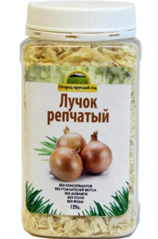 Лук репчатый сушёный 'Здоровая еда' в ПЭТ-банке