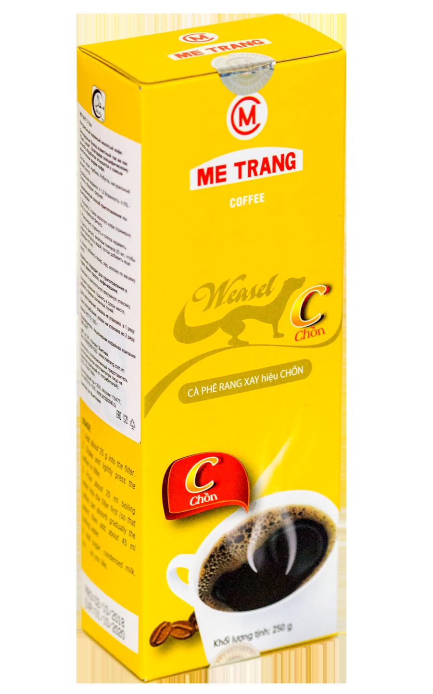 Кофе Me Trang Weasel Chon Kopi Luwak молотый 250 гр 2