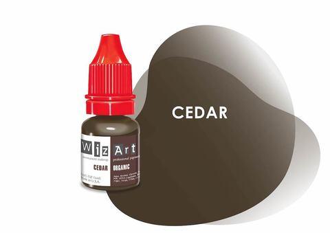 Cedar (русо-коричневый) • Wizart Organic • пигмент для бровей