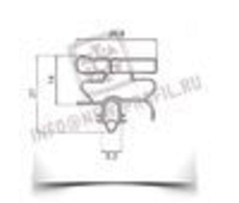 Уплотнитель для холодильника  Electrolux ERB 9192 х.к 1170*570 мм (010 АНАЛОГ)
