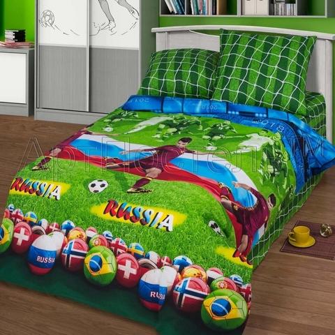 Комплект постельного белья Матч Премиум