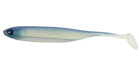 Виброхвост LJ 3D Series Makora Shad Tail 3.0in (7,6 см), цвет 001, 7 шт.