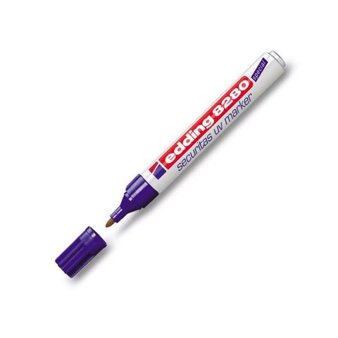 Маркер ультрафиолетовый EDDING E-8280 круглый наконечник 1,5-3мм