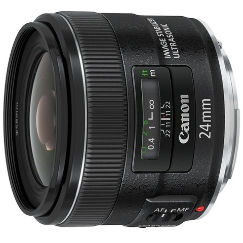 Объектив Canon EF 24mm f/2.8 IS USM Black для Canon