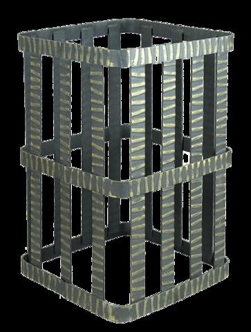 Сетка на трубу 300х300х500 Гефест ЗК 35/40/45