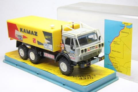 KAMAZ-4310 Rally Objectif Sud №502 experimental Elecon 1:43