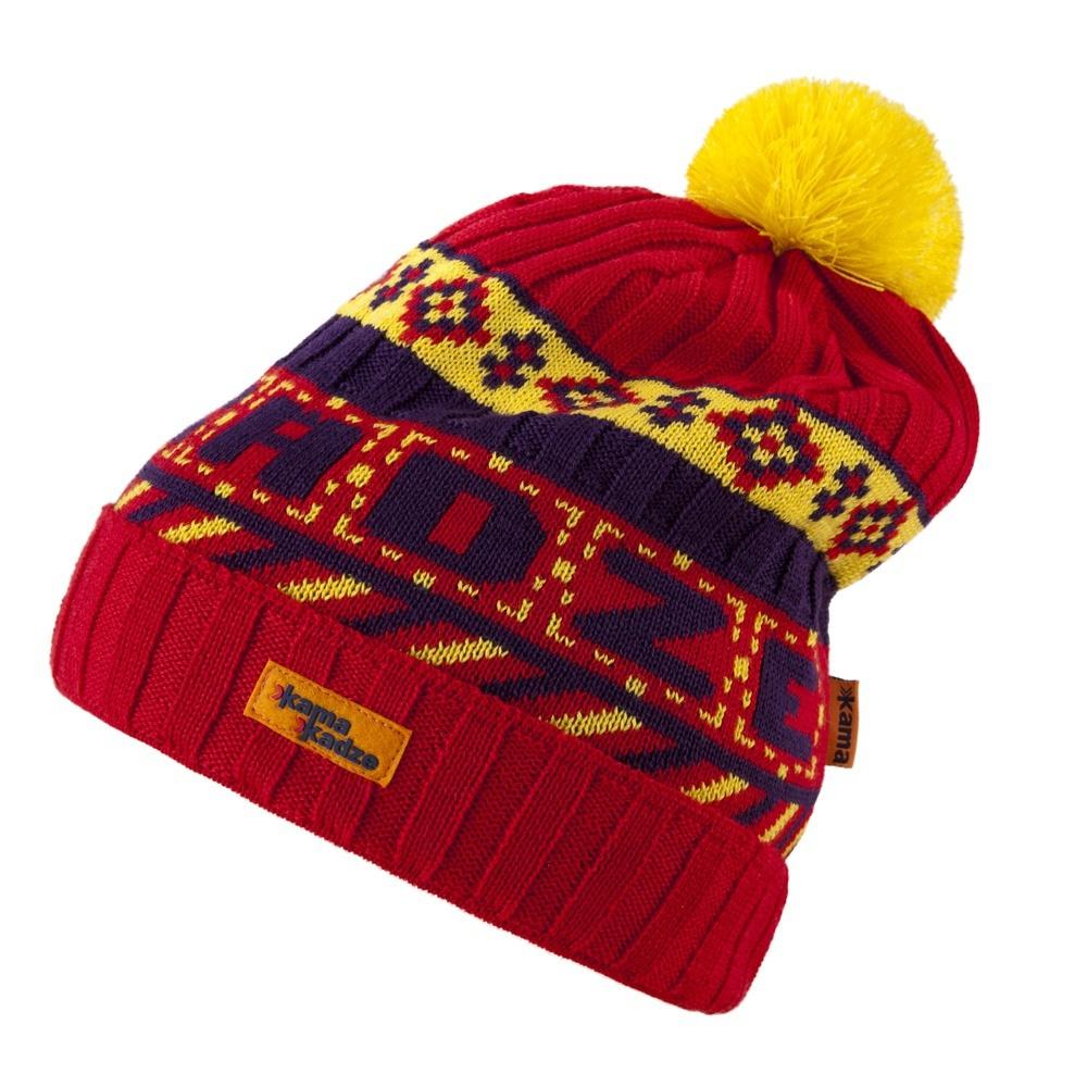 Шапки с помпоном Шапка с помпоном Kama K31 Red kamakadze-knitted-hat-k31-default__1_.jpg