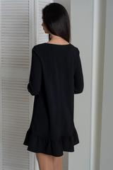 Ирма. Красивое платье свободного фасона. Черный