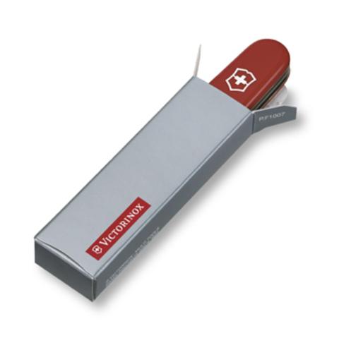 Нож Victorinox Climber, 91 мм, 14 функций, полупрозрачный синий123