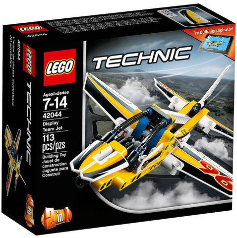 LEGO Technic: Самолёт пилотажной группы 42044 — Display Team Jet — Лего Техник