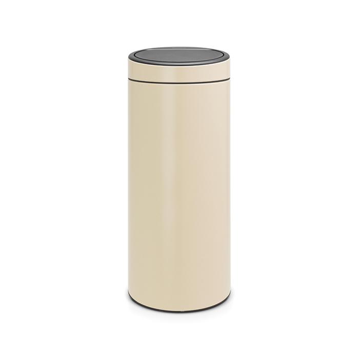 Мусорный бак Touch Bin New (30 л), Миндальный, арт. 115042 - фото 1